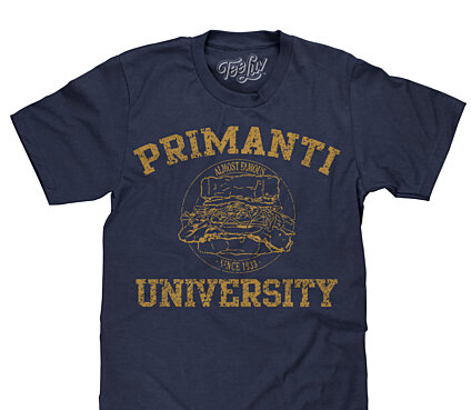 Primanti University Tee (Navy)