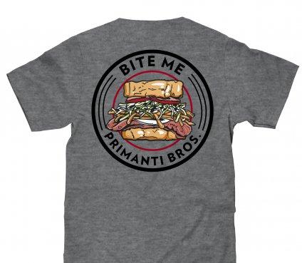 Bite Me Tee (Gray)
